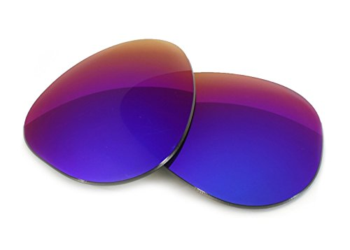 FUSE Lenses for Ray-Ban RB3026 Aviator L (62mm) Cosmic Mirror - Polarized Rb3026
