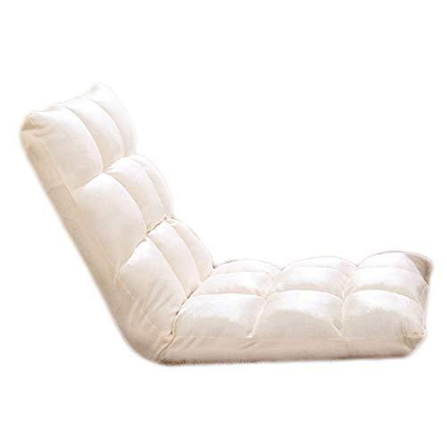 怠惰なソファシングルフロア畳み折りたたみソファベッドバックチェアフローティングウィンドウチェアレイジーチェア B07SYNM29Q Style Thirteen