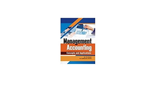 Download Management Accounting: Concepts and Applications ebook