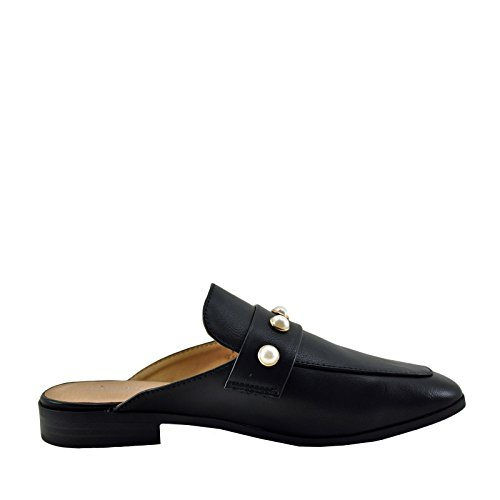 Studded G0lly Black s Back Open City Classified Mule Loafer Women's Yzwffq