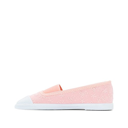 La Redoute Collections Sneakers, Rosafarbenes Spitzemuster 2639 Rosa
