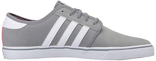 Adidas Originals Zapatos Seeley Los De Los Seeley Hombres Gris / Blanco 313864