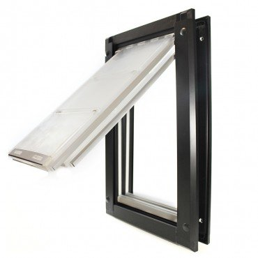 Endura Flap Medium Door Mount - Bronze Double Flap 8'' x 14'' pet door by Endura Flap Pet Doors