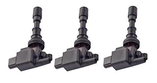Pack of 3 Ignition Coils for 02 03 04 05 Kia Sedona 01 Hyundai XG300 02 XG350 3.0L 3.5L fit C1353 UF-432 27300-39050