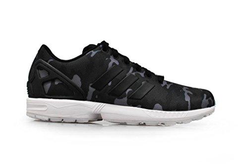 adidas Originals ZX FLUX WEAVE Textile, Sneakers unisex Colour: Black White