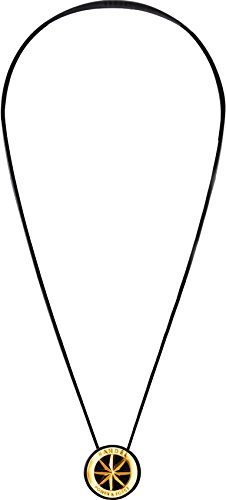 BANDEL(반델) 메탈 스포츠 건강 목걸이 (블랙×골드) 40cm