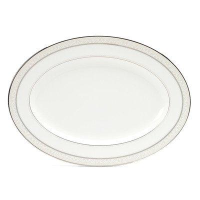 Noritake Montvale Platinum 16-Inch Oval Platter by Noritake (Image #1)