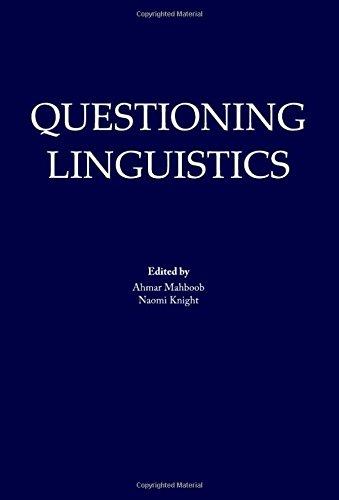 Questioning Linguistics