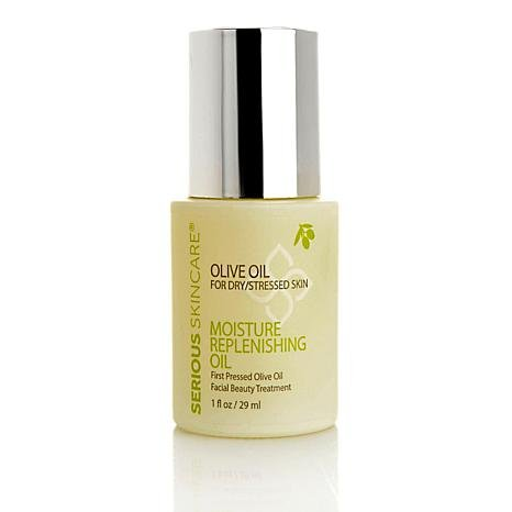 - Serious Skincare First Pressed Olive Oil Moisture Replenishing Oil Facial Beauty Treatment