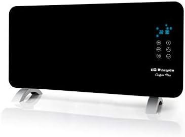 Orbegozo REH 1550 – Panel radiante con frontal de cristal templado en color negro, apto para baño, mando a distancia y temporizador. 1500 W de potencia.: Amazon.es: Hogar