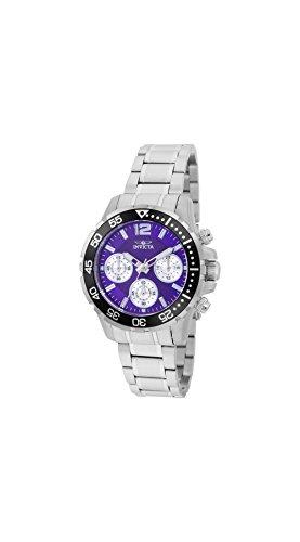 Price comparison product image Invicta Pro Diver Lady Chronograph Purple Dial Ladies Watch 25748