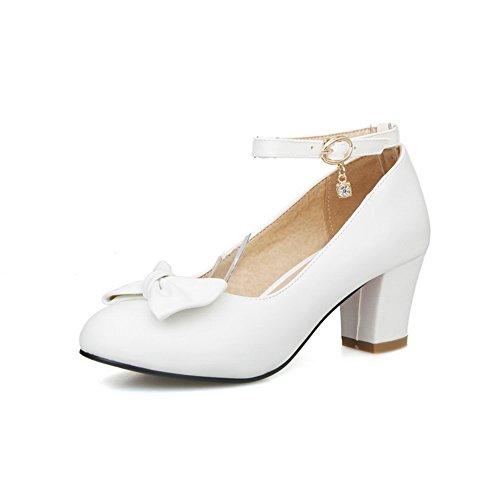 Apl10310 Compensées Femme Balamasa Sandales Blanc wZpqYxAx4