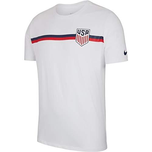 Nike Usa Soccer Training - Nike 2018-19 USA Crest Tee White L