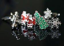 Blazers Proforms Costumes - Xmas cufflinks 4 sets:Santa Clause Christmas Tree snowman (4 Tuxedo Chairs)