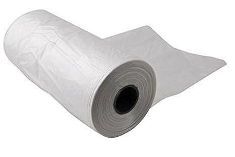 Rollo de bolsas de plástico liso, 11 x 17 13 mic, 4 rollos ...