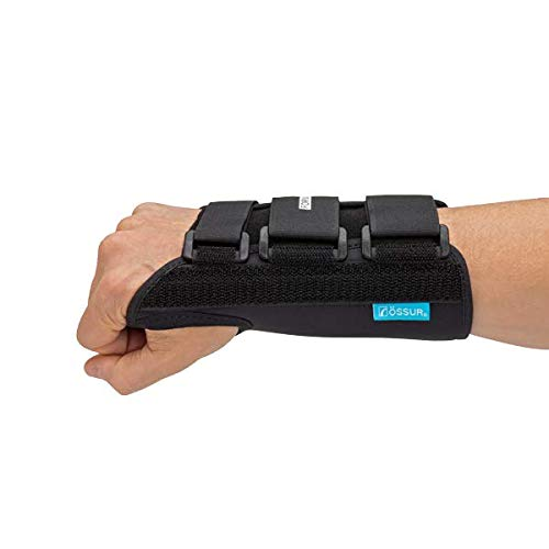Ossur Formfit Wrist Brace for Treatment of Tendonitis - Wrist Immobilization, Breathable Material, Contact Closure Straps & Customizable Stays (Medium - Right - 8