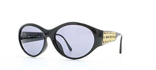 Christian Dior 2766 90 Black Certified Vintage Rectangular Sunglasses For - 2014 Dior Sunglasses