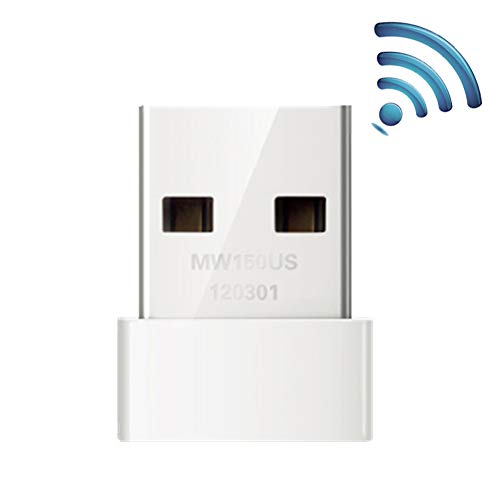 wewa98698 150M Mini Portable WiFi Desktop Computer USB Wireless Network Card LAN Adapter