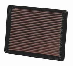K&N ENGINEERING 33-2135 Air Filter; Panel; H-1.562 in.; L-9.875 in.; W-12.5 in.;
