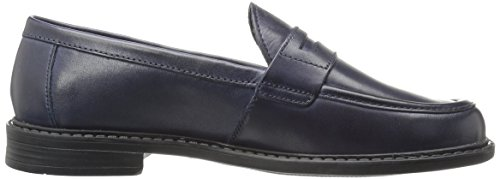 Cole Haan Campus Pinch Penny Loafer Marine Blue Handstained Leather
