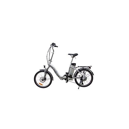 Elektrofahrrad 36V Pedelec Klappfahrrad Faltrad, Silber