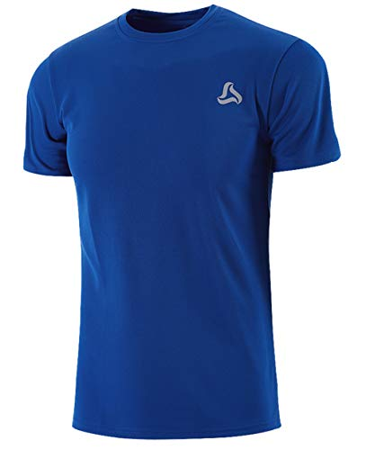 - SILKWORLD Men's Mesh Quick-Dry Short Sleeve Workout Shirt (X-Large (Fit Chest 40