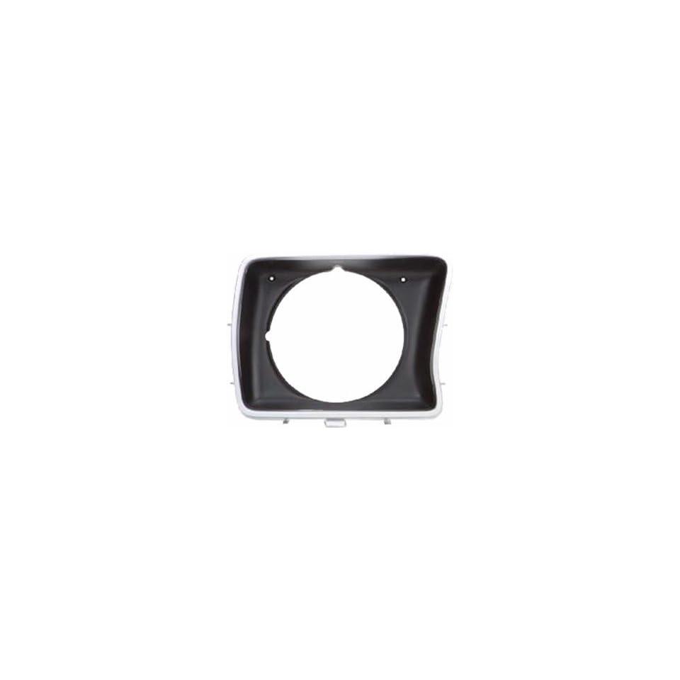 QP F0739 a Ford F Series Light Gray Passenger Headlight Door Grille