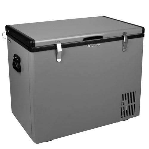 Compact 10v (Edgestar 80 QT Portable Fridge/freezer - Grey)