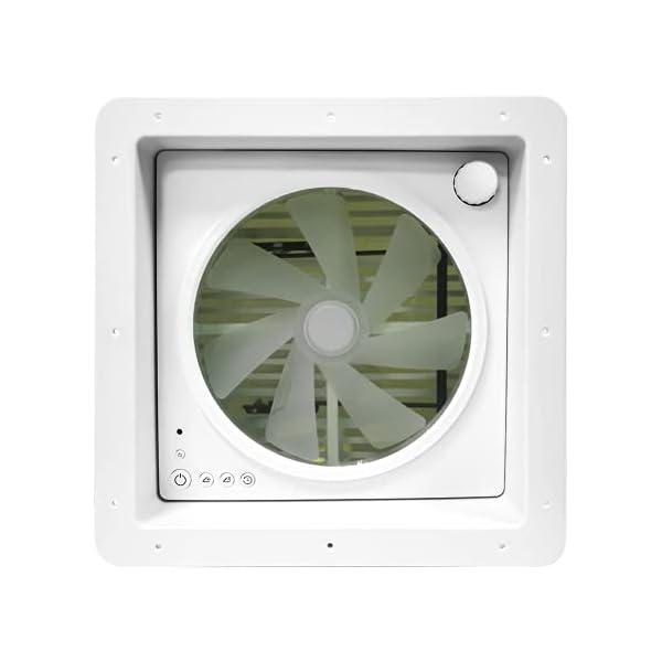 315GLUhz9 S Belüftung für Wohnmobil RV Dachventilator, automatischer Wohnmobilventilator mit Regensensor, level permanenter…
