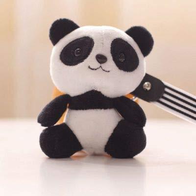 Amazon.com: Llavero con diseño de panda de peluche, con ...