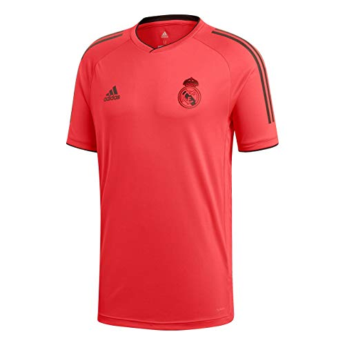 adidas 2018-2019 Real Madrid UCL Training Football Soccer T-Shirt Jersey (Red)