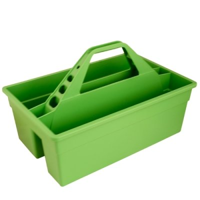 Mango Green 17'' L x 11'' W x 11'' H Tote Max Rubber Caddy Container (1 Container)