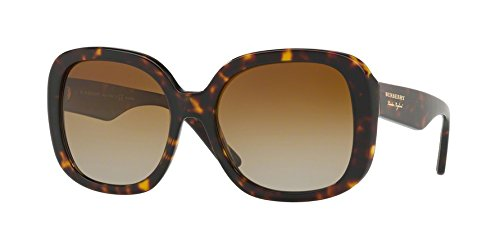 Burberry Men,Women BE4259 56 Tortoise/Brown Sunglasses 56mm