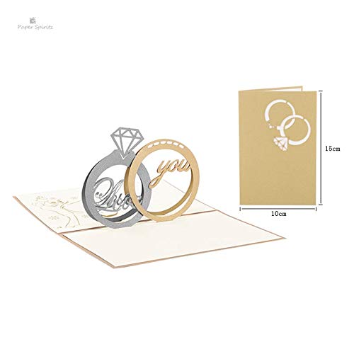 3d Greeting Cards - 3d Greeting Cards Easter - 3d Assorted Greeting Cards - Wedding Invitations Card Laser Cut 3D Mariage Handmade for Lover Greeting Happy Birthday Valentine's Day Postcard.
