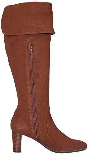 Knee Aerosoles Lavender Over Brown The Suede Boot Women's Mid pwPqfIw4O