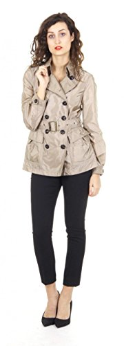 Burberry Brit ladies belted short trench coat Peasdale - Uk Burberry