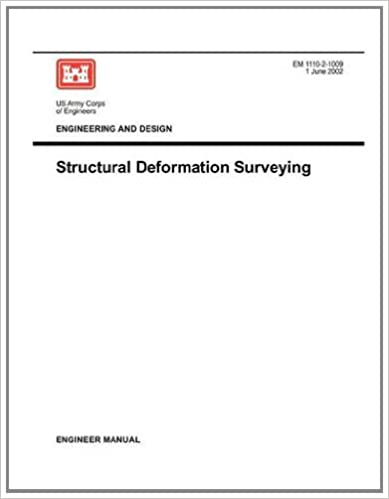 Book Engineering and Design: Structural Deformation Surveying (Engineer Manual EM 1110-2-1009)