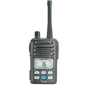 Icom M88 Instrinsically Safe (IS) Handheld VHF Radio - Instrinsically Safe