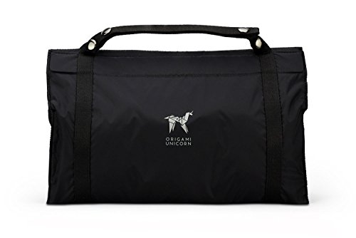 Origami Unicorn TUO -Travel Undergarment Organizer - New Packing Solution (Signature Black)