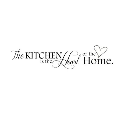 DZT1968 Removable Kitchen Heart Home Decal Wall Stickers Vinyl Bathroom Art Decor 1PC