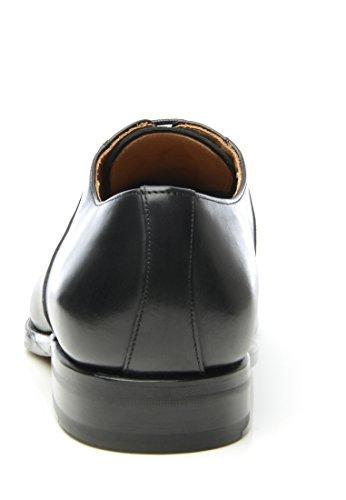 SHOEPASSION No. 580 Exklusiver Business, Freizeit- oder Auch Hochzeitsschuh für Herren. Rahmengenäht und Handgefertigt Aus Feinstem Leder. Schwarz