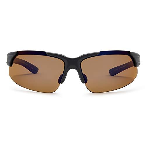 Callaway  Sungear Peregrine Golf Sunglasses - Matte Gray Plastic Frame