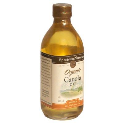 Spectrum Naturals Organic Refined Canola Oil (3X16 Oz)