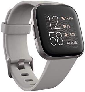 Fitbit Versa 2 - Smartwatch de salud y forma física, Gris piedra ...