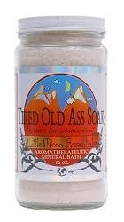 Tired Old Ass Soak / Bath Salts / 4 oz. Trial Size