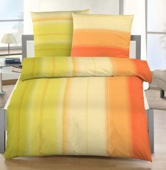 Mako Satin Bettwasche Design Farbverlauf Baumwoll Satin