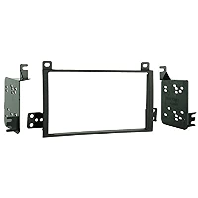 Metra 95-5810 Double DIN Installation Dash Kit for 2003-2007 Lincoln Town Cars (Black): Car Electronics