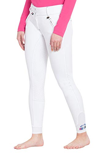 (Equine Couture Beatta Full Seat Breech 26 White)