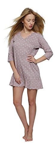 In Notte Cotone Vb205e Camicia Da Vestito V7 Donna qawCzTqx