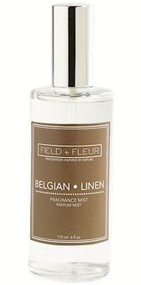 FIELD FLEUR Belgian Linen Pump Room Mist 4 oz